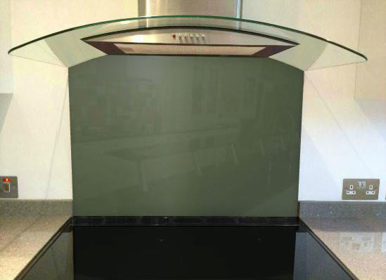 Picture of RAL 7009 Splashback
