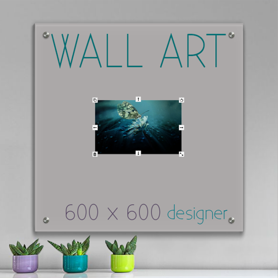 Picture of Glass Wall Art 60cm x 60cm