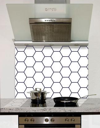 Picture of Hexagon pattern Splashback
