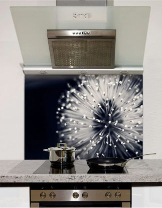 Picture of Abstract dandelion Splashback (standard size)