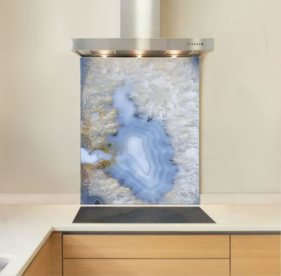 Picture of Blue Agate Stone Splashback
