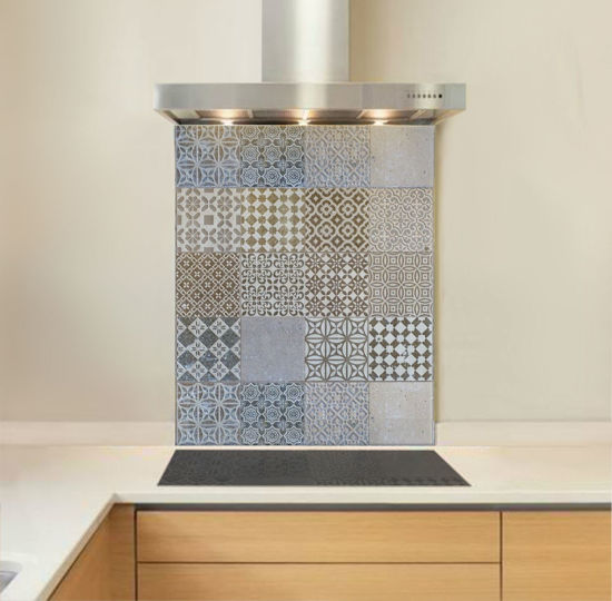Picture of Cement Tile Splashback