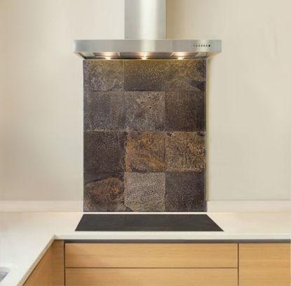 Picture of Slate Tile Splashback
