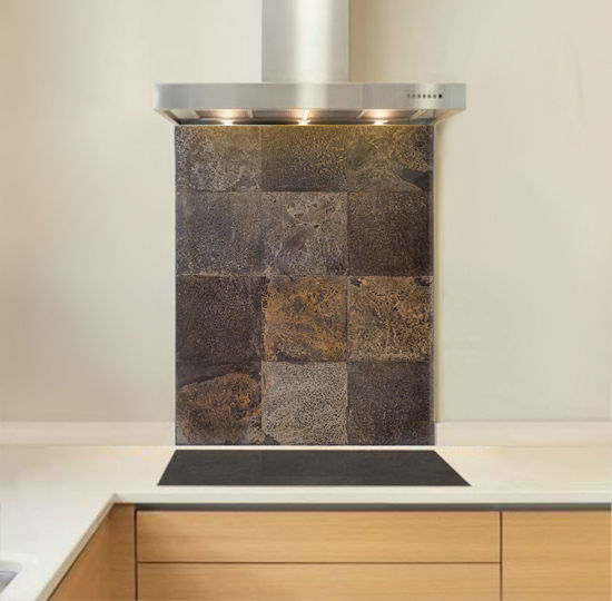 Picture of Slate Tile Splashback