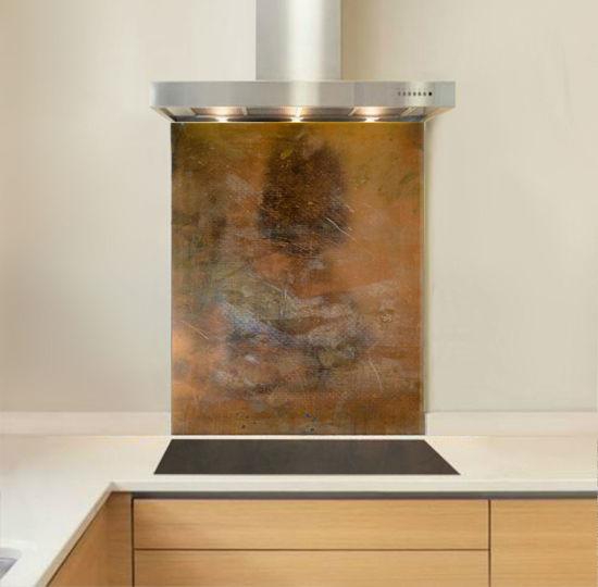 Picture of Burnished Copper Splashback