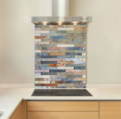 Picture of Stacked Stone Splashback