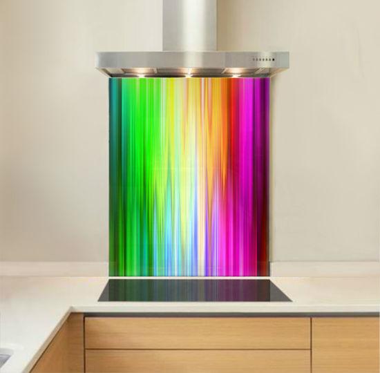 Picture of Spectrum Rays Splashback