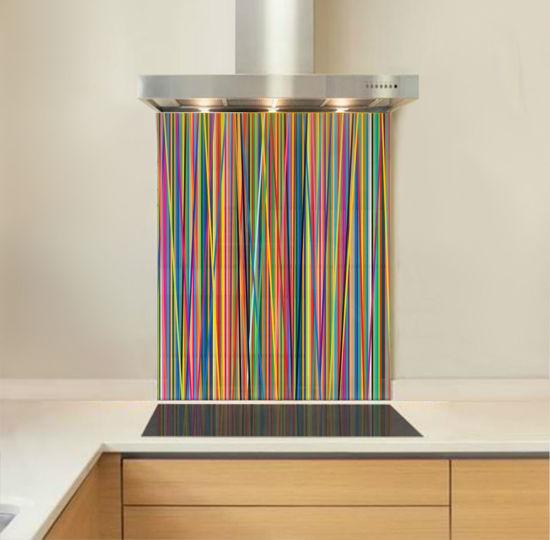 Picture of Colour stripes Splashback