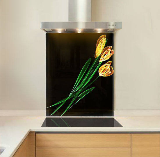 Picture of Tulip Lights Splashback