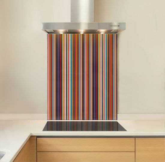 Picture of Multi Stripe Splashback