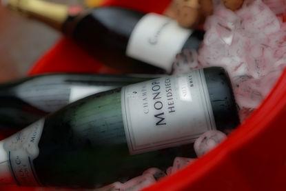 Picture of Champagne Glass Kitchen Splashback