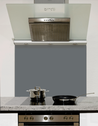 Gallant Grey Glass Splashback